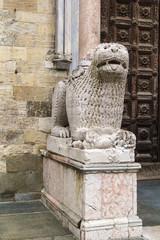 statue of a lion, Psrma