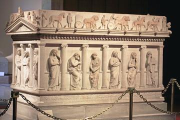 Detail of Great Alexander's Sarcophagus