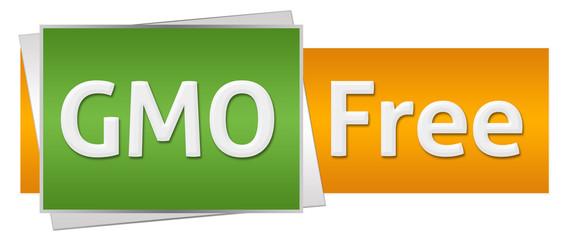 GMO Free Green Orange Horizontal