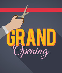Grand Opening. EPS10.