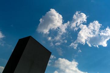 Gebäude vor Himmel