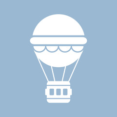 Hor air balloon icon