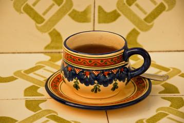 served tea