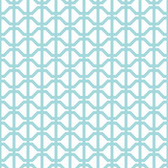 Retro Seamless Pattern Abstract Turquoise