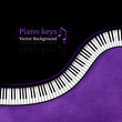 Piano keys background. - 80918392