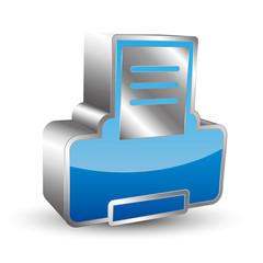 Printer 3D icon