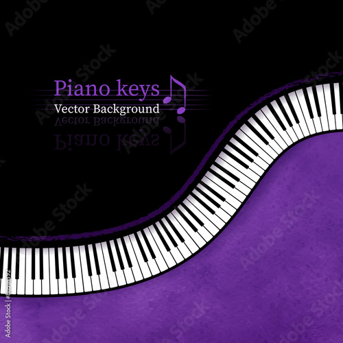 Piano keys background.