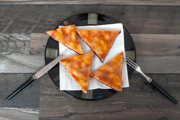 Slice of Homemade Cherry Pie