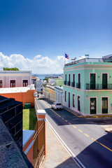 Puerto Rico streets and architecture