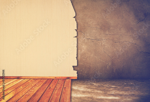Leinwanddruck Bild Interior Repair, instagram retro style