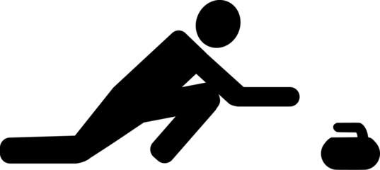 Curling Pictogram