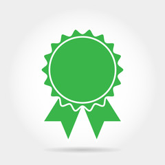 Icon labels green pictograms vector illustration