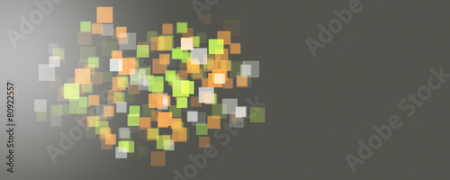 Leinwanddruck Bild futuristic background design illustration