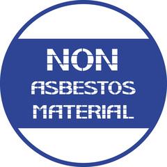 Non asbestos material.