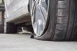 burst tire - 80923563