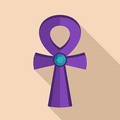 Egypt cross icon