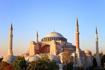 Hagia Sophia, a former Orthodox patriarchal basilica, later a mo