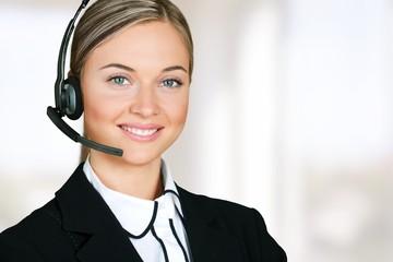 Service. Call-center representative