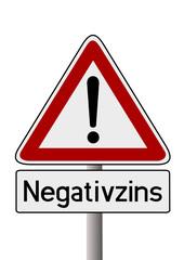 Achtung Negativzins