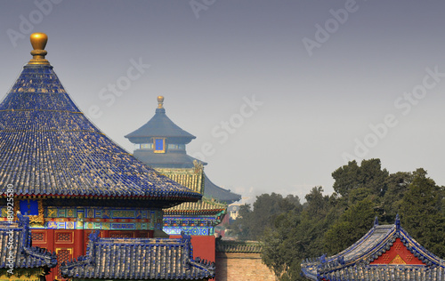 Fotobehang Beijing Temple of Heaven in Beijing - China