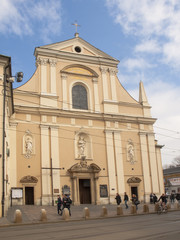 The Carmelite Church in Krakow, Poland
