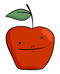 red apple draw