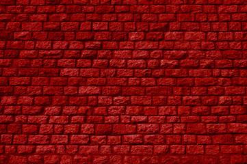 Rote Backsteinwand