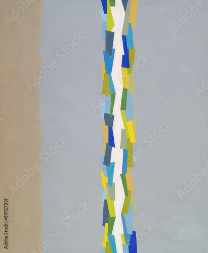 an abstract painting - 80927361