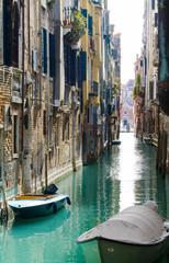 Venice scene along the walk way.