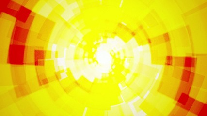 Modern rotating abstract light yellow orange background with rec