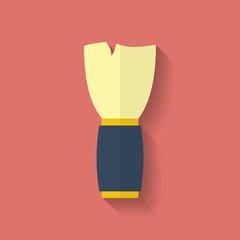 Shaving Brush icon. Flat style