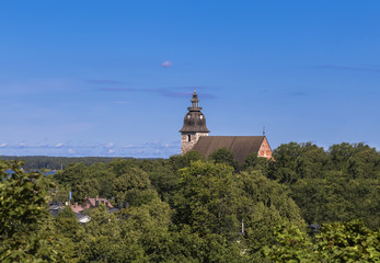 Landscape with Naantali Church