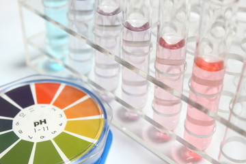 実験イメージ pH
