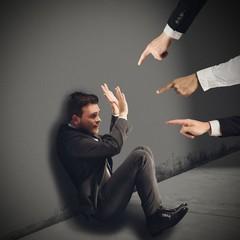 Businessman blamed unfairly