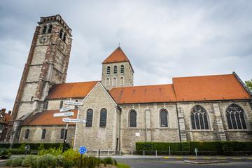 Saint Brise Church in Tournai, Belgium