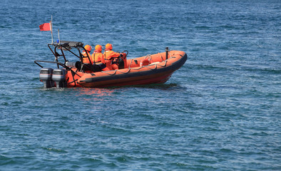 Marine rescue operation