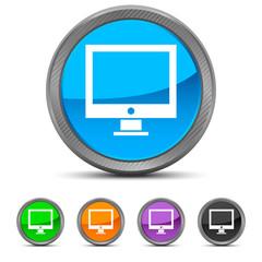 Round Monitor icon