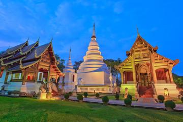 Wat Phra Singh at Chiangmai, Thailand