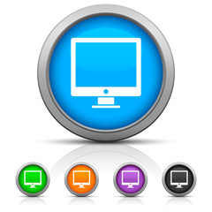 Glossy Computer icon