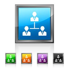 Square Leadership icon