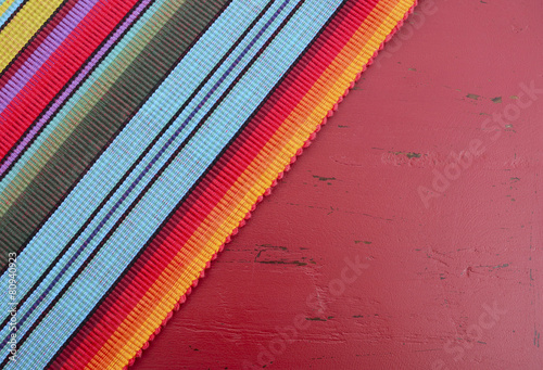 Keuken foto achterwand Assortiment Happy Cinco de Mayo colorful party table