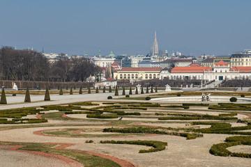 Schlosspark Belvedere - Oberes Belvedere | Wien