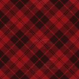 Red grunge plaid tartan 1