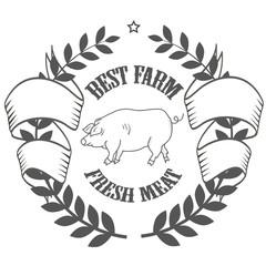 best farm logos fresh meat