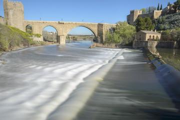 Long Exposure image of Tagus river, Toledo (Spain)
