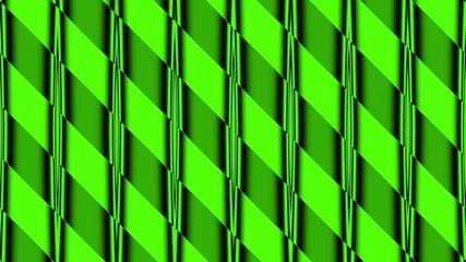 green abstract loop motion background, lines