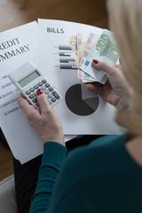 Analyzing family budget