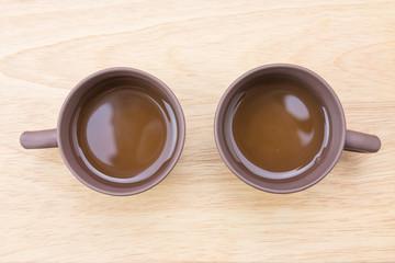 Close-up teacup