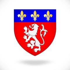 Blason de la ville de Lyon (France)