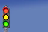 Verkehrsampel Signale Grün-Gelb-Rot